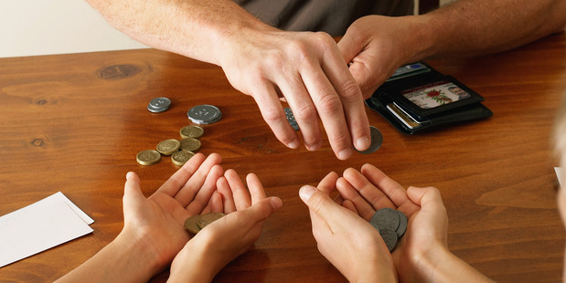 What did your parents teach you about money? Photo/Getty Images.