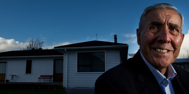 Our People: Henry Parkinson has lived in the same Koutu house for 58 years. Photo/Stephen Parker.