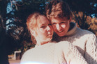 David Cunliffe aged 21 and Karen Price aged 18 at Otago University. Photo / Supplied