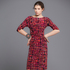 2. Helen Cherry dress, $629. Warwick Freeman cuff, $4500, from Fingers. Stella McCartney loafers, $990, from Runway. Photo / Greg Bowker