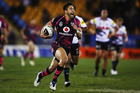 Shaun Johnson of the Warriors runs away to score a try during the round 16 NRL match between the New Zealand Warriors and the Penrith Panthers. Photo / Getty Images