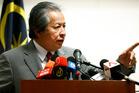 Malaysian Foreign Minister Anifah Aman. Photo / AP