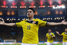 Colombia's James Rodriguez, one of the stars of this year's FIFA World Cup.  Photo / AP