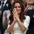 At Wimbledon, the Duchess of Cambridge wears a dress by Australian brand Zimmermann. Picture / AP Images