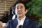 Japanese Prime Minister Shinzo Abe. Photo / AP