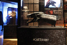Dozens of costumes and props from Game of Thrones are on display at the Museum of Contemporary Art, Sydney. Photo / AP