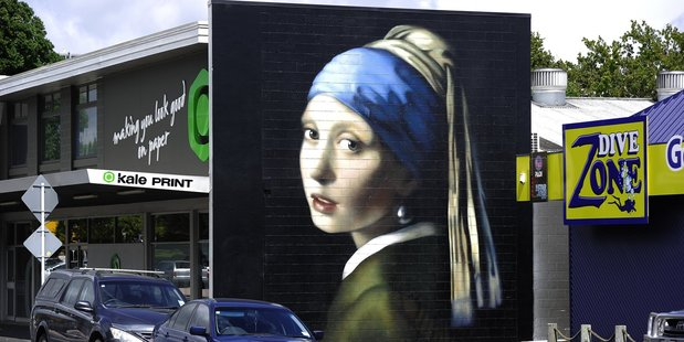 Owen Dippie's downtown murals.