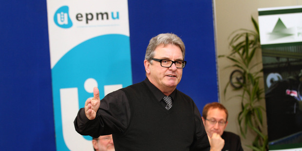 EPMU national secretary Bill Newson. Photo / Geoff Dale