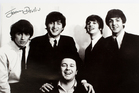 The Beatles with support act Johnny Devlin (John Baker collection)