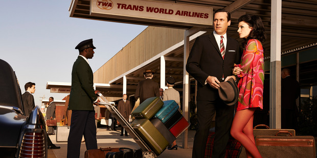 Mad Men is one of the shows US-based Netflix offers for around US$10 a month, and which Kiwis can now access.