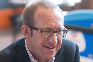 Labour MP Andrew Little was head of the EPMU for 11 year. Photo / APN