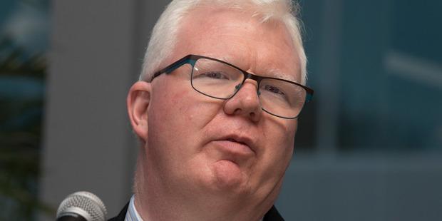 NZX chief executive Tim Bennett. Photo / Brett Phibbs