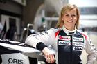 The fastest woman in the world - Williams development driver Susie Wolff. Photo / Supplied