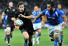 The possibility of an All Blacks test in Apia has gained public support. Photo / NZPA