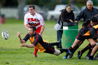 Halfback Aaron McDonald is pushing 42 and a century of games, and indeed played in the 1999 Shield challenge against Waikato. Photo / NZPA