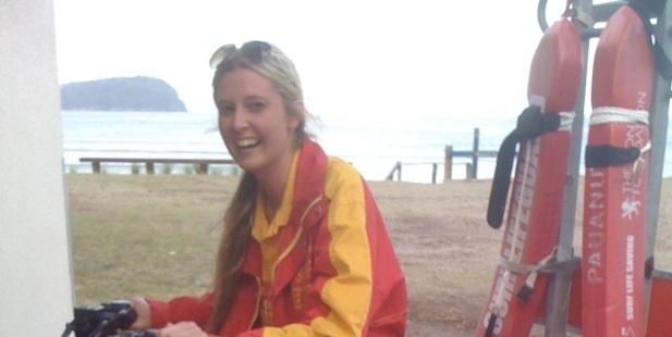 Surf Life Saving ambassador and lifeguard Jamie McDell. PHOTO/SUPPLIED