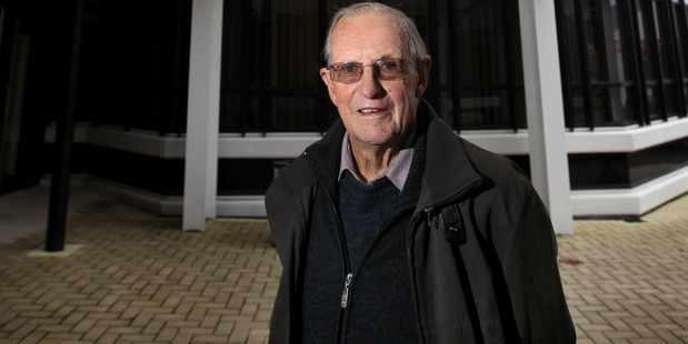 Veteran builder/developer Syd Watters,  outside his Bower House, says he owes his success to a chance encounter with business partner Lyal Jackson in 1949.  Photo/Duncan Brown