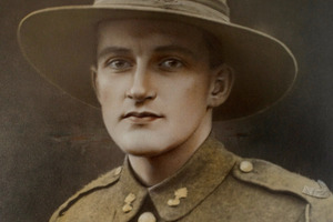 Cyril Bassett gained his VC for bravery at Chunuk Bair. File photo / NZ Herald