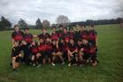 Te Puke's Tai Mitchell team.