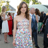 Keira Knightley wore an iridescent silk dress with floral embroideries and white linen trousers by Chanel to the Serpentine Gallery summer party in London. Picture / Getty for Chanel