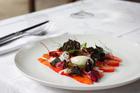The Gravlax salmon dish from Tribeca. Photo / Greg Bowker