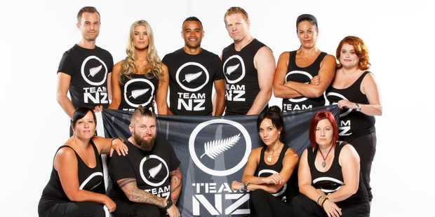 Team NZ, of the Amazing Race persuasion, is competing in the first bi-country challenge.