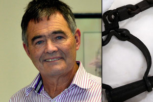 Dave Cull has no regrets about stepping in to buy a controversial pair of leg irons. Photo / NZ Herald, Craig Baxter ODT