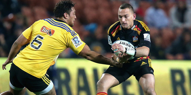 Aaron Cruden produced a dominating display as the Chiefs kept alive their season. Photo / Getty