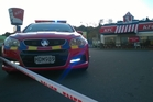 The KFC carpark was closed off as police investigated the death of a boy, 2, who was hit by a car.