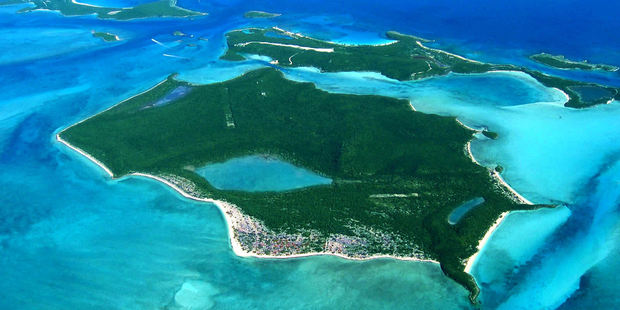 Darby Island located in the Bahamas is for sale. The asking price - NZ$52,996,801. Photo / supplied / Private Islands Online