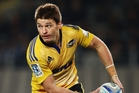 Beauden Barrett starred for the Hurricanes during their 16-9 victory over the Crusaders. Photo / Getty Images