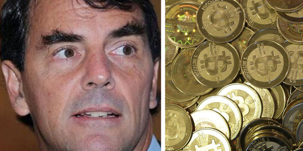 Venture capitalist Tim Draper will work with startup Vaurum to help provide access to bitcoins in developing economies. Photo / Twitter @launchticker, AP
