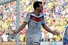 Mats Hummels celebrates. Photo / AP