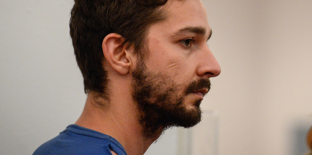Shia LaBeouf has entered a rehab facility, according to reports. Photo/AP