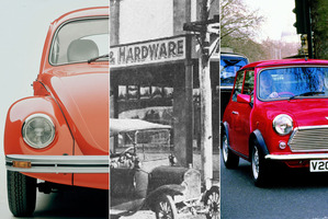 The Beetle, the Model T Ford and the Mini - helped change the driving world.