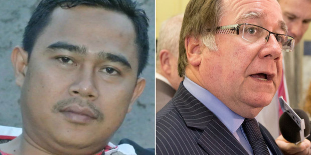 Muhammed Rizalman will be brought back to NZ to face charges, while Murray McCully faces questions about while he was allowed to leave NZ at all. Photo / NZ Herald