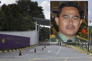 Muhammad Rizalman bin Ismail is a patient at Tuanku Mizan Military Hospital. Photo / Brett Phibbs