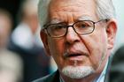 Rolf Harris outside court in London. Photo / AP