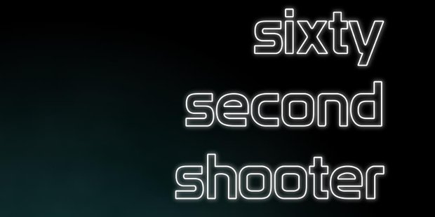 Sixty Second Shooter Prime, ID@Xbox, Xbox One.