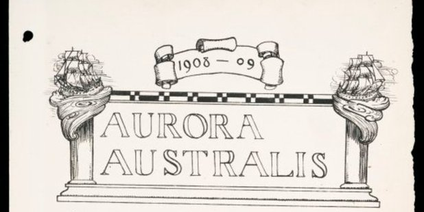 Title page of Aurora Australis.