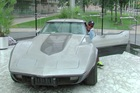 George Talley and his 1979 Corvette Stingray were finally reunited, 33 years after it was stolen from outside his Detroit home.