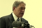 Winston Peters talks about the economy and NZ First policies.