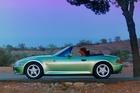 The BMW Z3 briefly featured in the James Bond movie, Goldeneye.