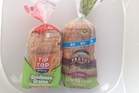 Tip Top Goodness Grains 9 Grain & Seed $4.49 for  700g loaf (l) , Freya's Lower Carb 5 seeds $4.99 for 750g loaf.