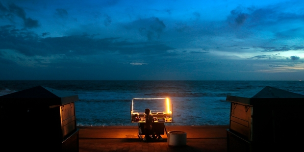 More than 40 potential Sri Lankan asylum seekers have been returned to Galle by warship. Photo / AP