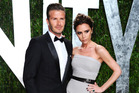 David Beckham and Victoria Beckham at the 2012 Vanity Fair Oscar Party. Photo / Getty