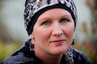 Chemo patient Bridget Wheeler's hat kept her out of Hamilton's casino. Photo / Christine Cornege