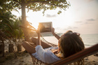 Technology is for showing off you're on holiday, not for checking e-mails. Photo / Thinkstock