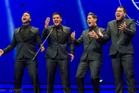 The Musical Island Boys barbershop quartet wowed the judges. Photo / Dan Wright