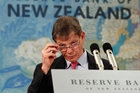 Reserve Bank Governor Graeme Wheeler warned in May the bank considered the kiwi was overvalued. Photo / Mark Mitchell